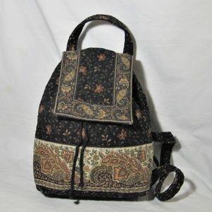 Vintage Vera Bradley backpack in  Black Walnut EUC